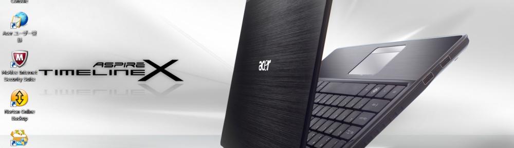 Acer 3820T-F52C ASPIRE TimeLineX をD2Dリカバリーしてみた